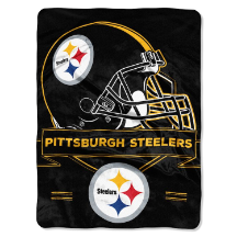 NFL Pittsburgh Steelers 60x80 Super Plush Throw Blanket