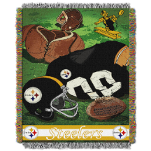 NFL Pittsburgh Steelers Vintage 48x60 Tapestry