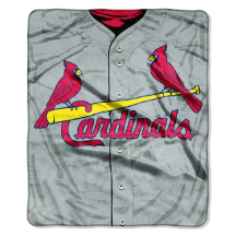 MLB St. Louis Cardinals 50x60 Raschel Throw
