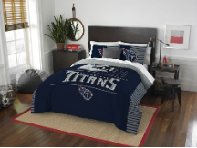 NFL Tennessee Titans QUEEN Comforter and 2 Shams