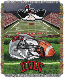 NCAA UNLV Rebels Home Field Advantage 48x60 Tapestry Throw