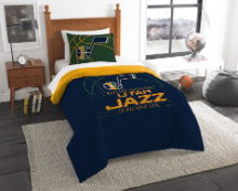 NBA Utah Jazz Twin Comforter Set