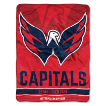 NHL Washington Capitals 50x60 Micro Raschel Throw
