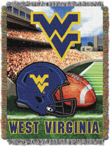 NCAA West Virginia Mountaineers Home Field Advantage 48x60 Tapestry Throw