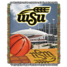 NCAA Wichita State Shockers Home Field Advantage 48x60 Tapestry Throw