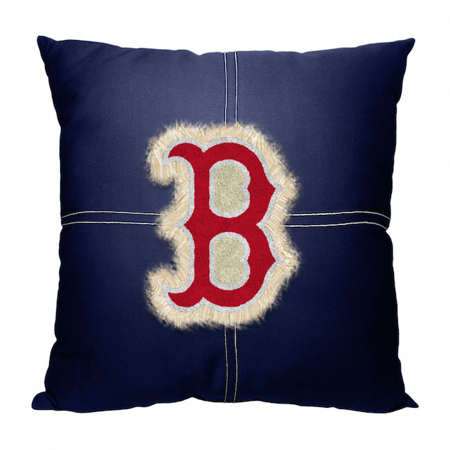 Mlb Boston Red Sox 18x18 Letterman Pillow Buy At Team