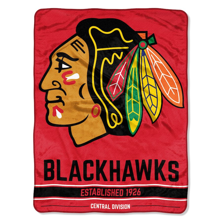 Nhl Chicago Blackhawks Grunge 50x60 Micro Raschel Throw Buy At Team