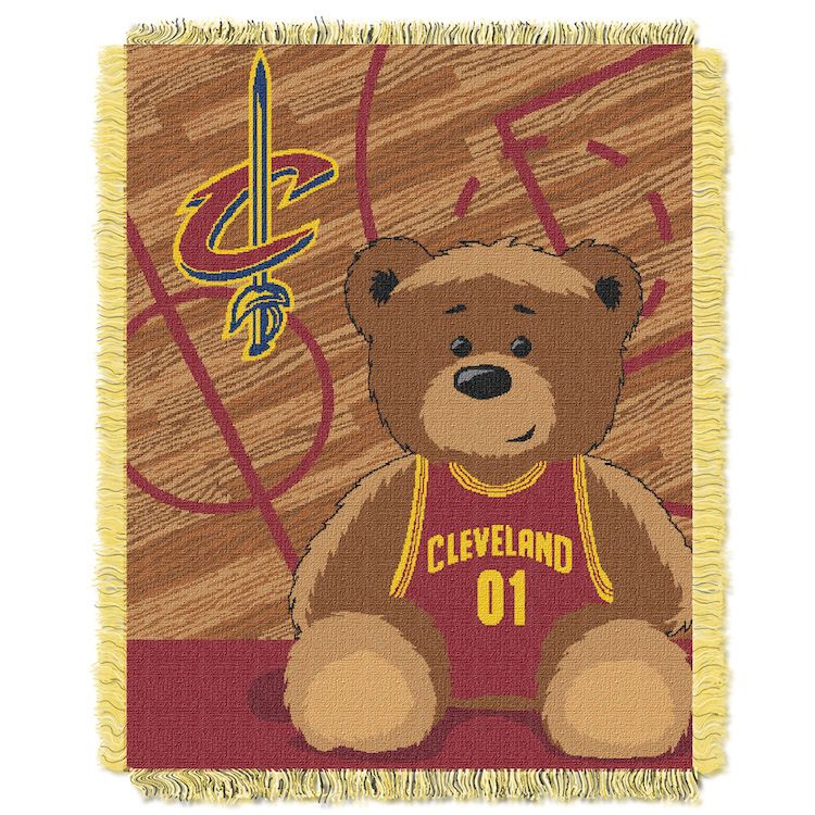 Cleveland Cavaliers Fans Scale Walls To Get Photos Of Nba: NBA Cleveland Cavaliers Baby Blanket