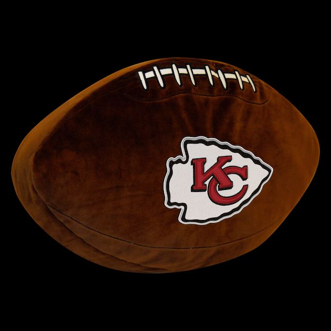 Nfl Kansas City Chiefs 3d Football Pillow Buy At Team