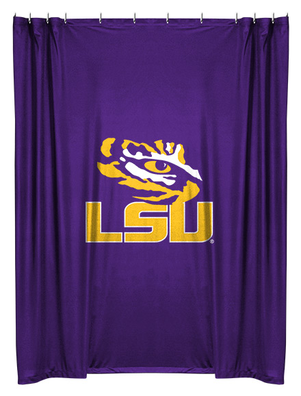 NCAA LSU Tigers Shower Curtain Buy At Team