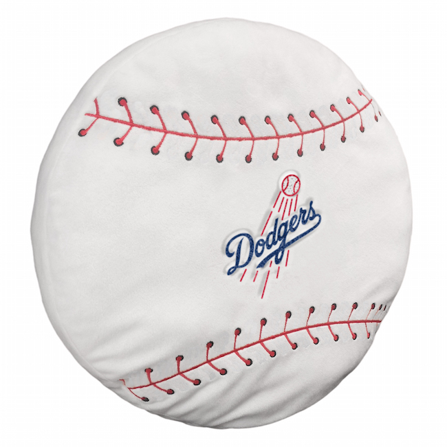 Mlb Los Angeles Dodgers 3d Baseball Pillow Buy At Team