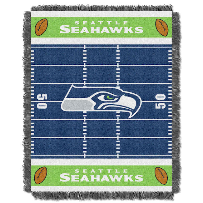 NFL Seattle Seahawks Baby Blanket - Buy at Team-Bedding.com